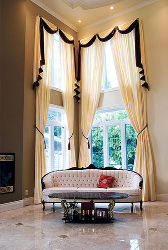 Curtains for high ceilings